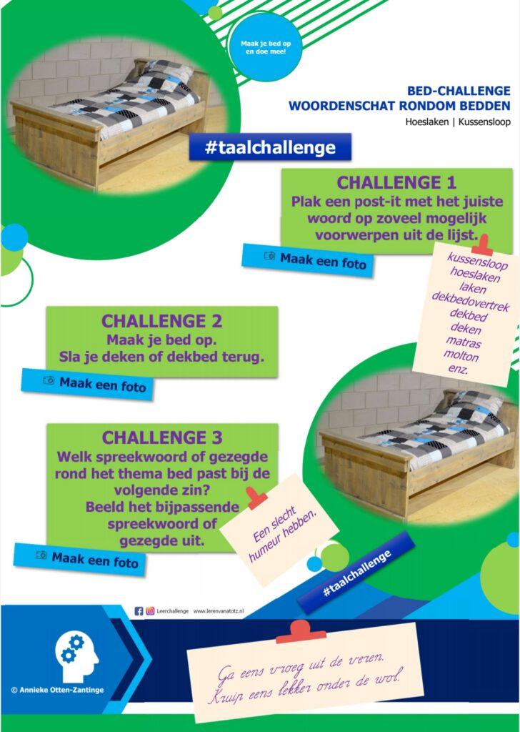 Woordenschat bed-challenge B