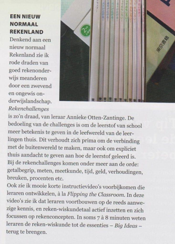 De nieuwe Leraar DNL Rekenen Thuisonderwijs