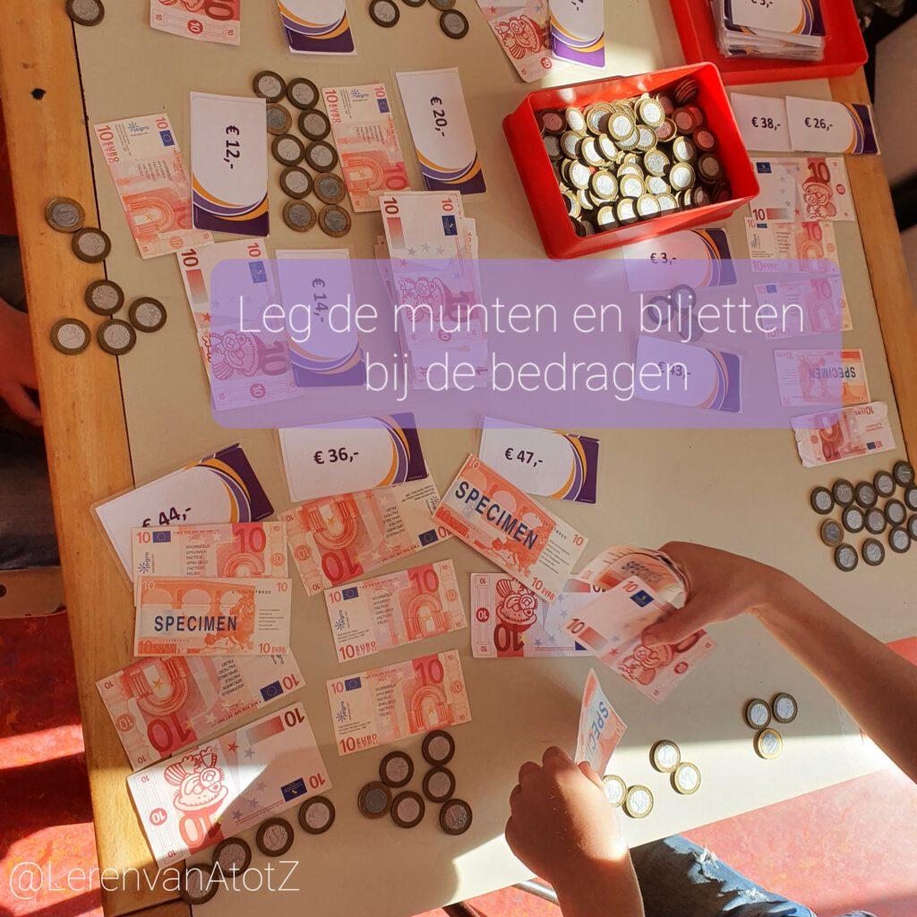 Rekencircuit groep 3 4 leren door te doen rekenspellen rekenkast geld rekenen