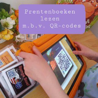 Onze kleuters lezen digitale prentenboeken d.m.v. het scannen van QR-codes. Er zijn veel verschillende prentenboeken te bekijken.  De QR-codes zijn hier te downloaden https://martijndewinter.nl/qr-codes/qr-code-kaarten-2/ met dank aan Martijn de Winter  Download gratis een QR-scanner op de iPad of misschien werkt het rechtstreeks via de camera. Leerlingen komen na het scannen direct bij het digitale prentenboek.   Deze tip kreeg ik o.a. van Leesadvies een zeer inspirerend leesaccount.  #lezen #woordenschat #school #kleuters #luisteren  www.lerenvanAtotZ.nl