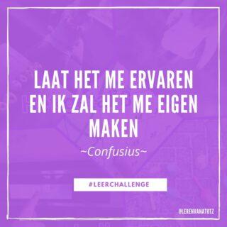 Leren door te doen! 💪 #LeerChallenges #thuisonderwijs #lerendoortedoen www.lerenvanatotz.nl