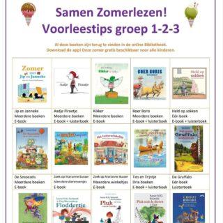 De IJsselgroep heeft zomerleestips voor alle groepen! Prachtige boeken om te lezen als e-book of te beluisteren als luisterboek (gezellig in de auto🚙). Al deze boeken zijn deze zomer gratis voor iedereen beschikbaar via de Bibliotheek .  Bekijk hier het volledige document: https://www.ijsselgroep-pdij.nl/blog/270-samen-zomerlezen  #leesbevordering #woordenschat #lezen #leesplezier #zomerlezen #lezenisleuk #lezen #groep3 #groep4 #groep5 #groep6 #groep7 #groep8 #kleuters #juf #meester