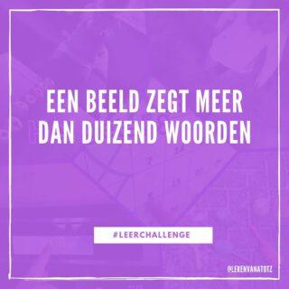 Doe de #LeerChallenge en maak een foto! 📸 #lerenzichtbaarmaken #lereninhetdagelijksleven www.lerenvanatotz.nl
