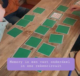 Memory is een vast onderdeel in ons rekencircuit. Groep 3 zoekt aantallen bij cijfers. Deze is van @klaarvoordeklas.nl  Maar ook de @derekenhoek heeft mooie memoryspellen, waarbij cijfers en aantallen gekoppeld moeten worden.  #rekencircuit #rekenspellen #Rekenen #lerendoortedoen