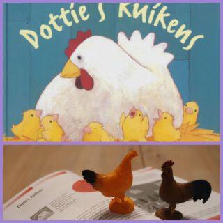 Pasen komt in zicht en het boek 'Dottie's kuikens' kost deze maand maar €10,-  In het boek 'Met rekenogen gelezen' staan leuke activiteiten bij dit boek.  #Rekenen #prentenboeken #pasen #voorjaar