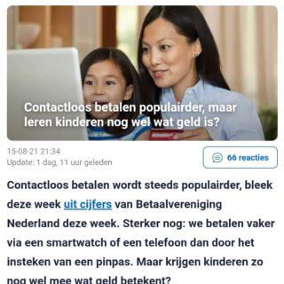 En zo wordt het rekenen met geld steeds lastiger. Iemand tips?  @nu.nl