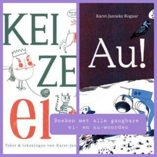🥚EI en AU boek🩹 In deze boeken staan alle gangbare woorden met de ei en de au. 'Keizer ei' was al een tijdje uit, maar nu is ook het boek 'Au!' verschenen.  De boeken zijn geschreven door Karst-Janneke Rogaar en uitgegeven door Uitgeverij Kluitman   Te koop bij jouw lokale boekhandel www.bruna.nl/  #spelling #taal #boeken #eiplaat #auplaat  www.lerenvanAtotZ.nl